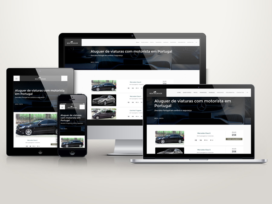 Web design - Sites responsivos